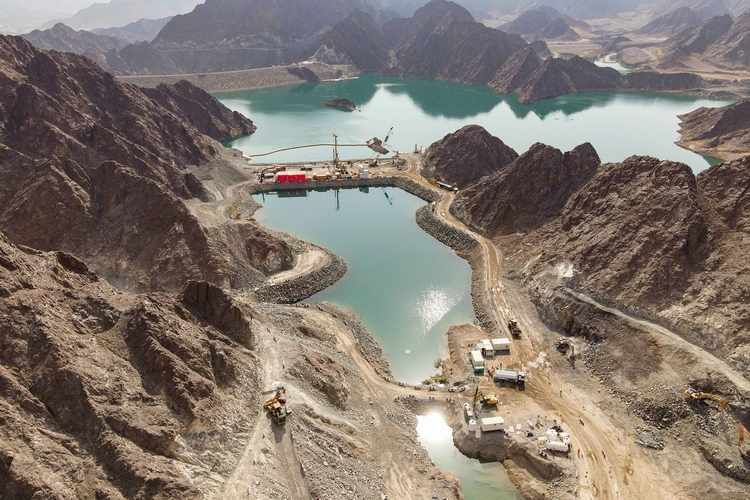 The 250 megawatt (MW) Hydroelectric power station in Hatta will have a life span of 80 years.