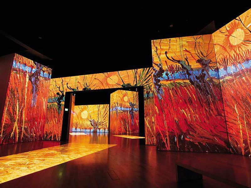 Van Gogh Alive Exhibition (2018) held at Abu Dhabi National Theatre and in Dubai Design District D3