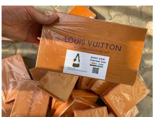 Ajman police seized 120,000 fake items 7-1622548895434