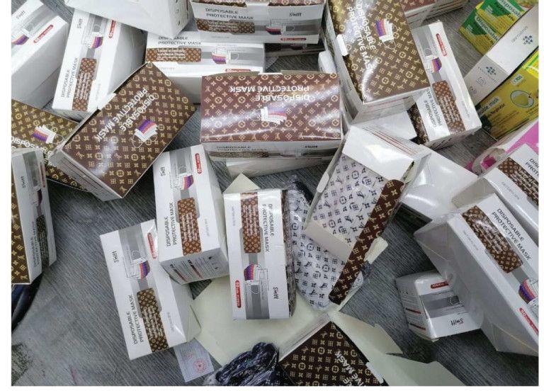 Ajman police seized 120,000 fake items 878-1622548893598