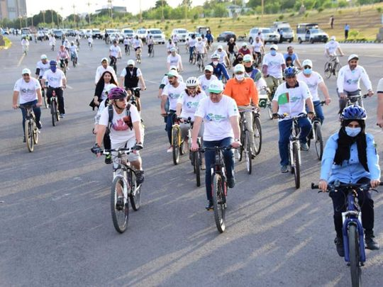 Bike ride Pakistan