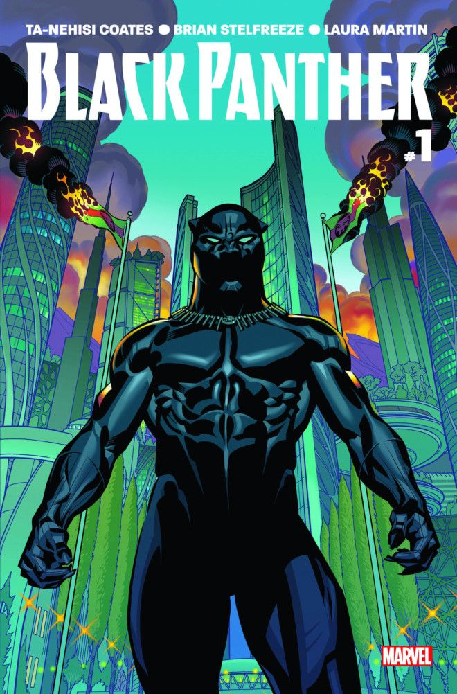 Black Panther comic book cover-1622532431645