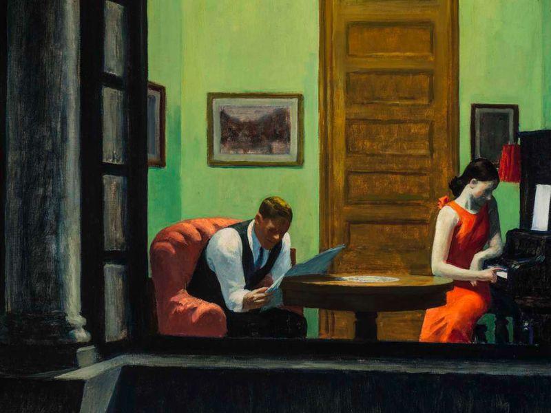 Edward Hopper, Room in New York