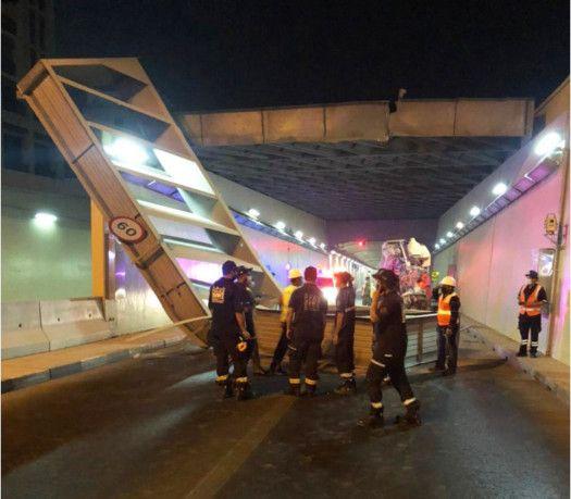 NAT Accident at Dubai Al Shindagha tunnel 5-1622542408140