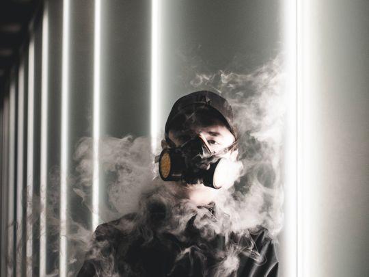 Smoking mask