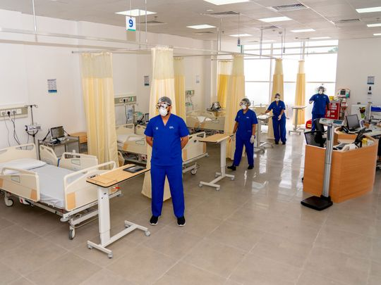 COVID ward