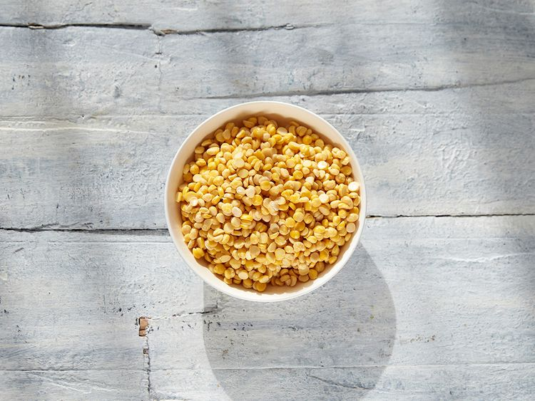 Soaked channa dal or split chickpeas