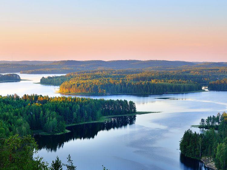 saimaa lake finland