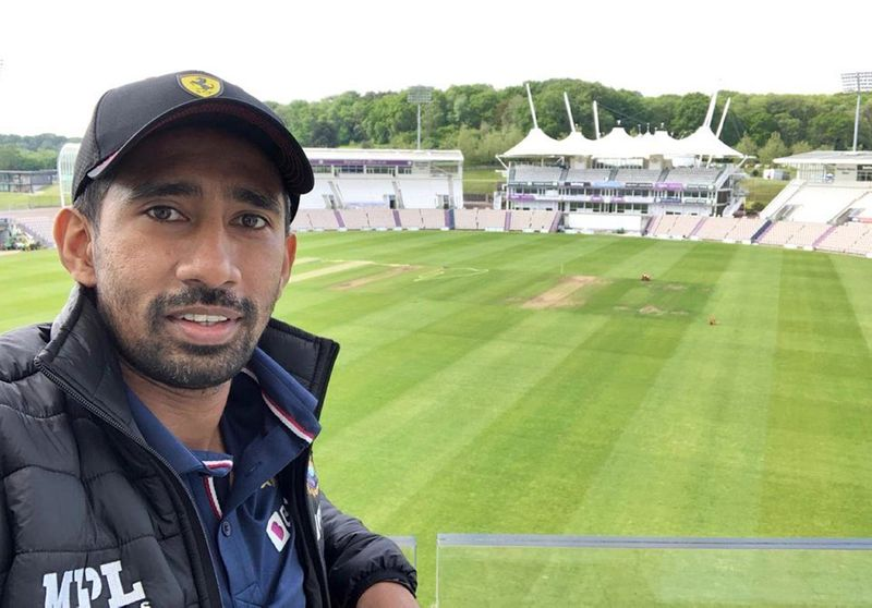 Cricket - Saha