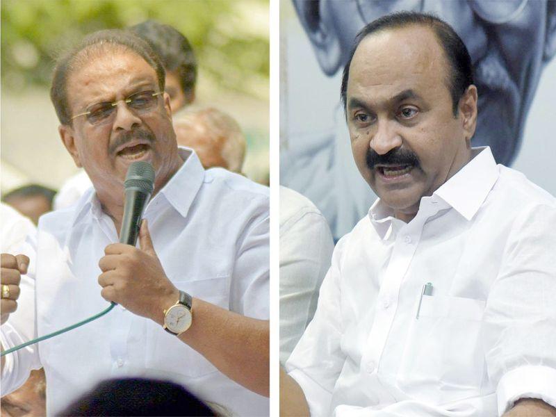 K Sudhakaran and VD Satheesan.