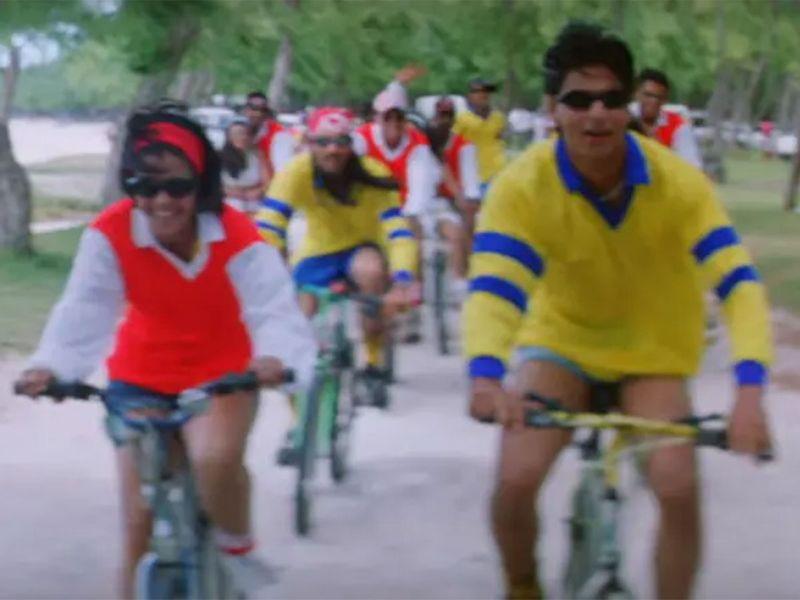 Kajol and Shahrukh Khan