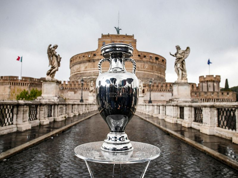 trophy of the UEFA Euro 2020