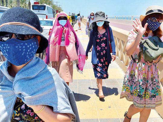 Hot weather Dubai