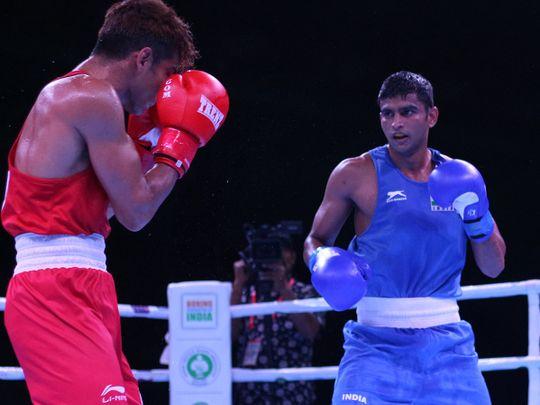 Boxing - Manish Kaushik
