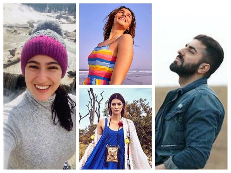 Sara Ali Khan, Alia Bhatt, Kriti Sanon, Ayushmann Khurrana