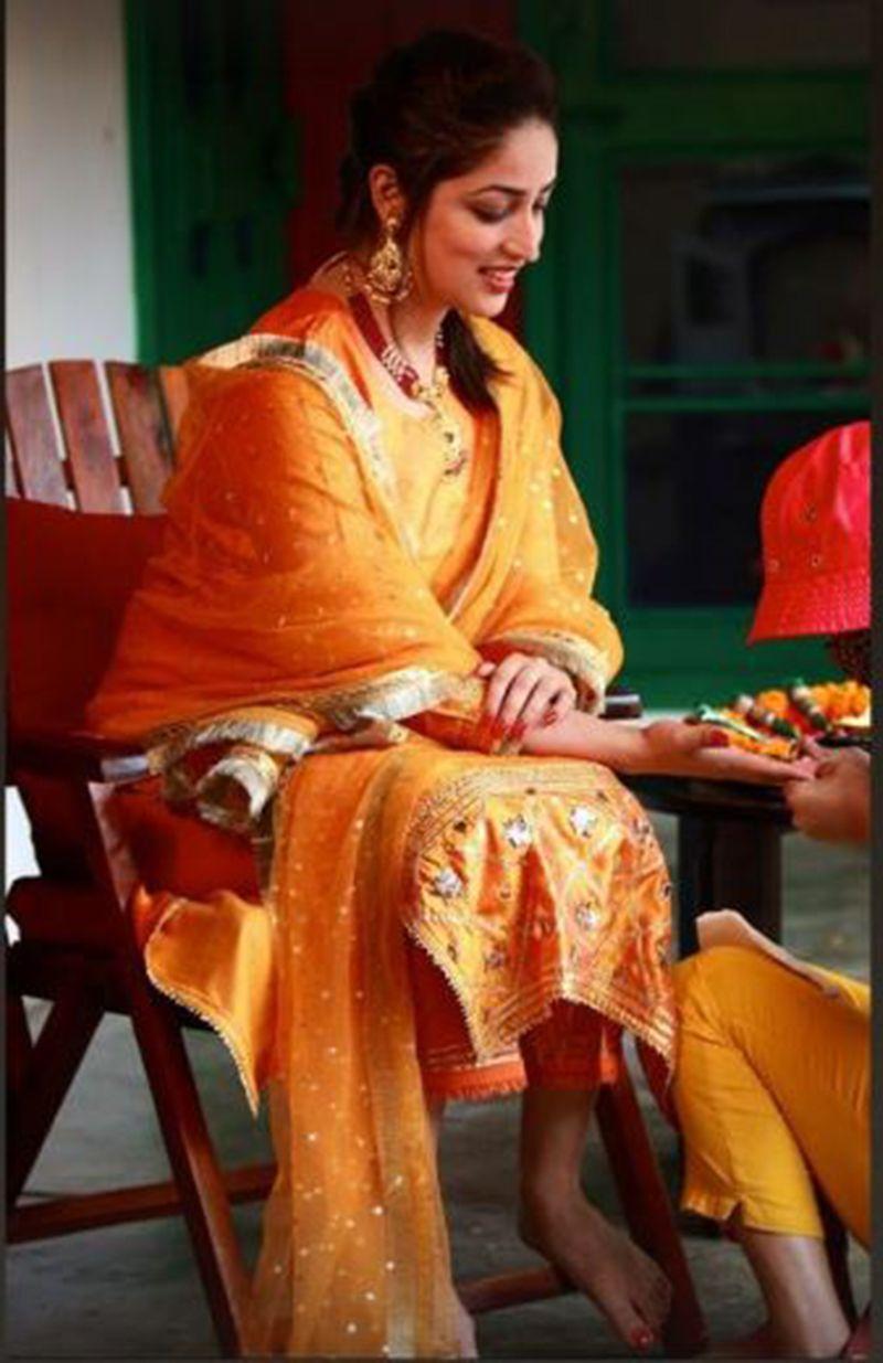 Yami Gautam at her wedding ceremony