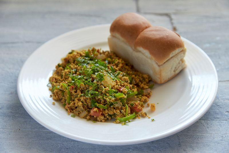 Bombay-style anda bhurji