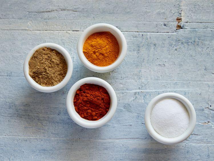 Ingredients for akuri