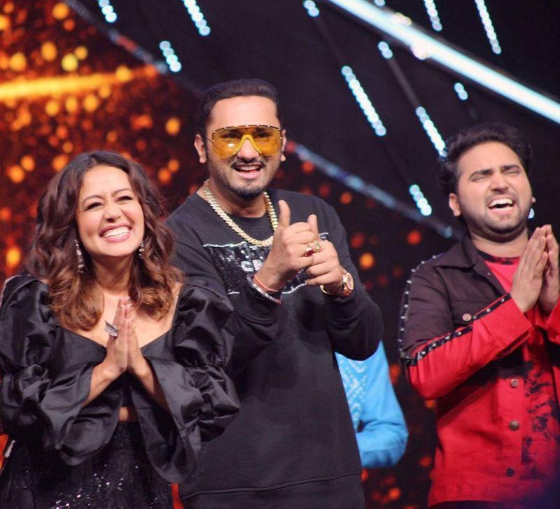 Neha Kakkar with Honey Singh