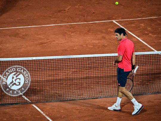 Roger Federer defeated Germany's Dominik Koepfer at the French Open
