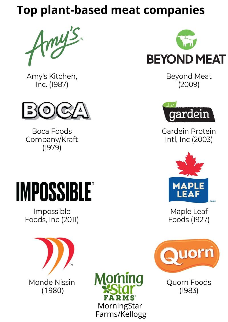 plant-based protein companies