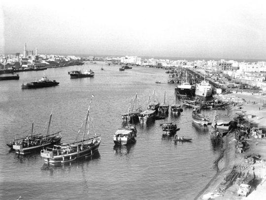Dubai in 1969