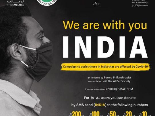 India initiative  by Future Philanthropist & Dar al Ber Society-1623058767542