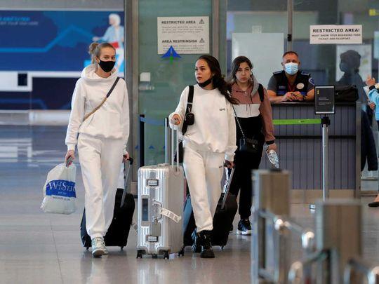 Spain travellers airport