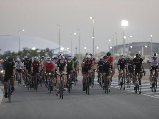 The Abu Dhabi Cycling Club ride
