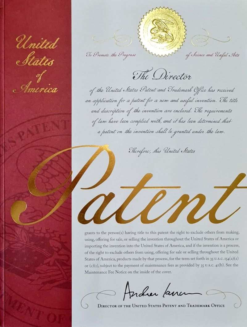 US Patent for Musbah Lahib