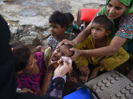 polio pakistan health