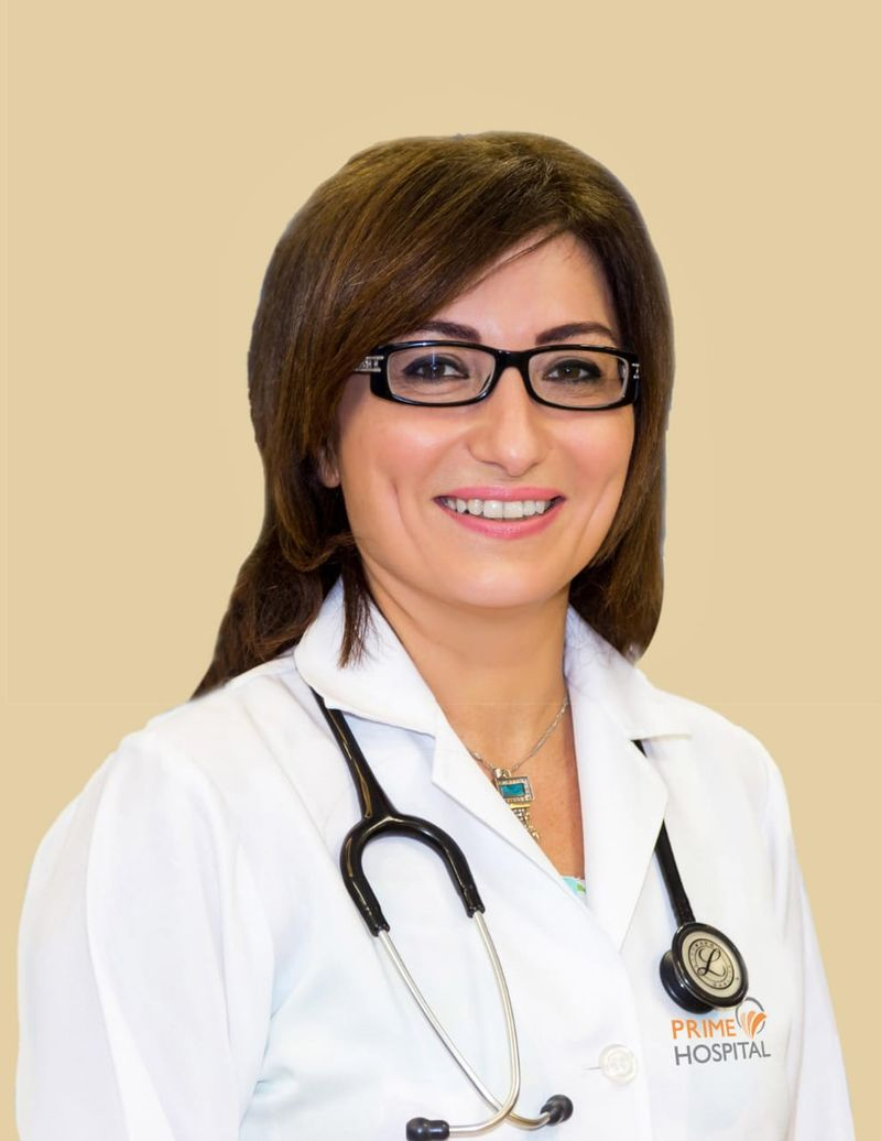 Dr Rouba Manachi, specialist paediatrician at Prime Hospital
