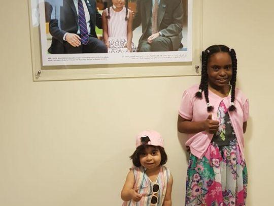 NAT 6 year old Reem and 9 year old Bana-1623151495641