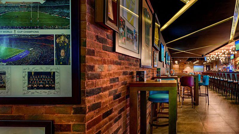Huddle Sports Bar in Bur Dubai