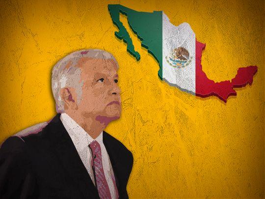 Mexico's President Andres Manuel Lopez Obrador