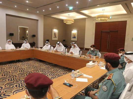 Sharjah Police and SCCI-1623221176450