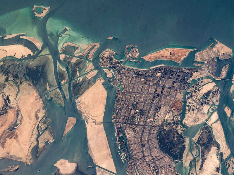 abu dhabi from space-1623241369595