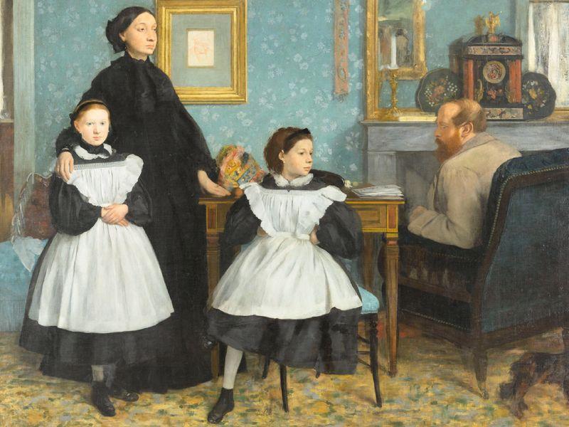 Edgar Degas, The Bellelli Family