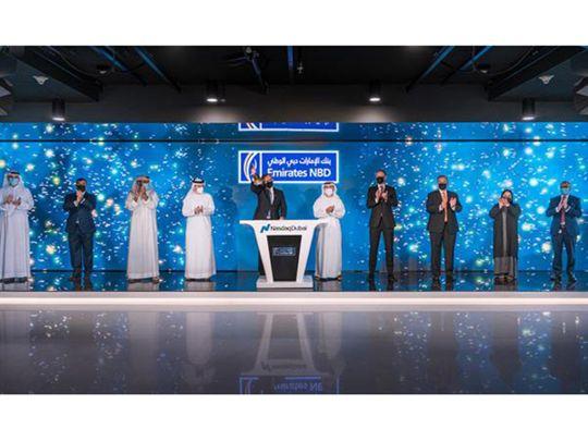Emirates NBD in NASDAQ Dubai