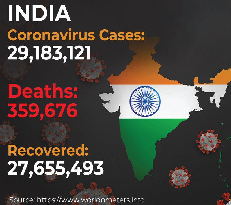 India covid deaths graphic