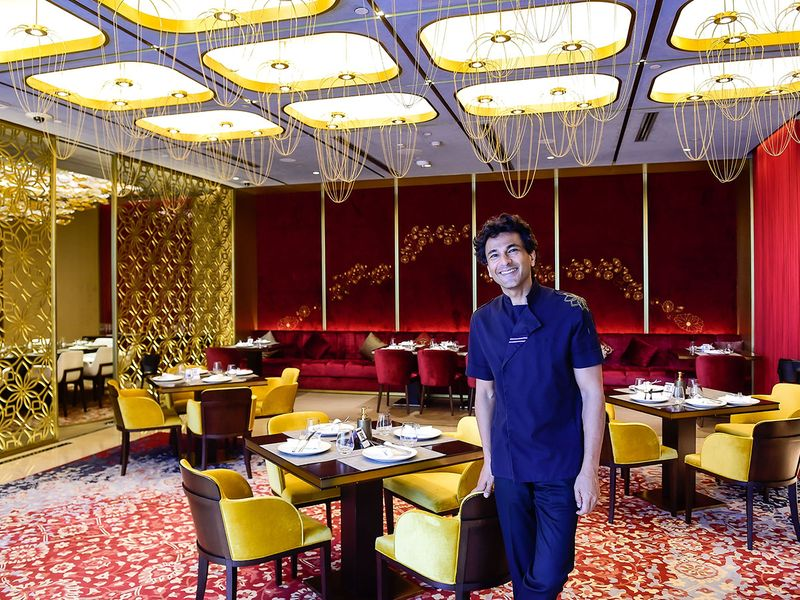 Indian chef, filmmaker, and author Vikas Khanna