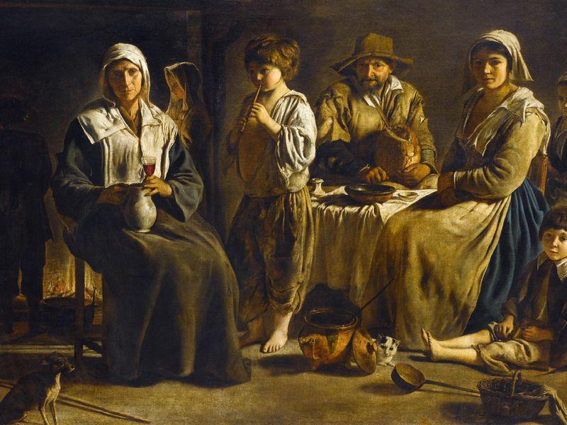 Louis Le Nain, Peasant Family in an Interior