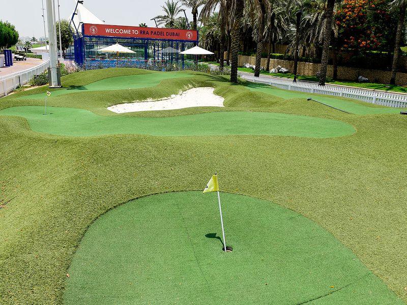 Mini Golf at Dubai at Dubai Creek Golf & Yacht Club
