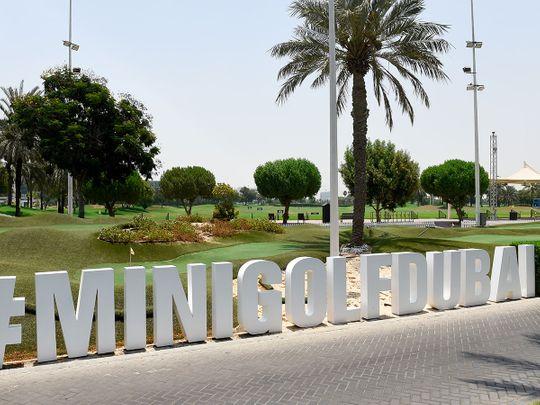 Mini Golf is a big draw at Dubai Creek Golf & Yacht Club