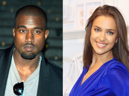 Rapper Kanye West And Model Irina Shayk Spark Dating Rumours Hollywood Gulf News