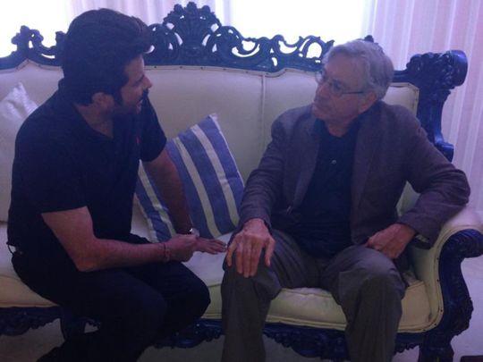 Anil Kapoor and Robert De Niro