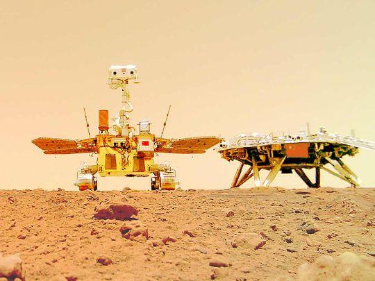 Chinese Mars rover Zhurong