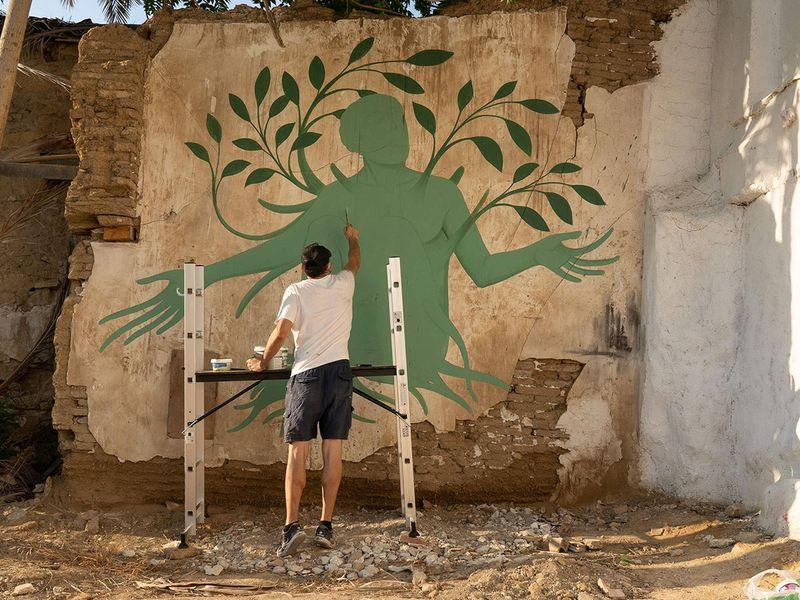 Greek artist Fikos
