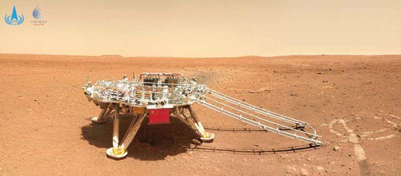Mars rover Zhurong