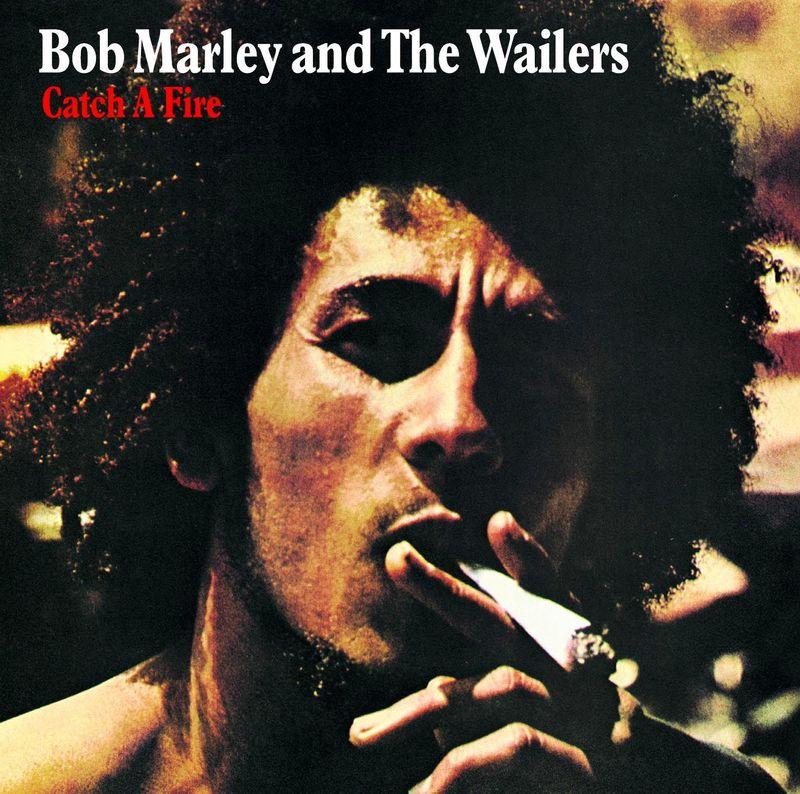 Bob Marley, Catch a Fire album cover